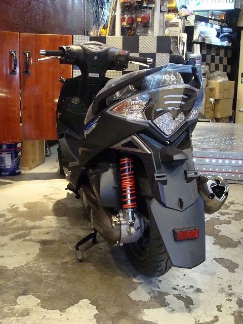 KYMCO RacingKing180i ABS