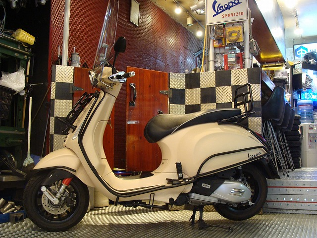 Vespa Sprint150ABS ADVENTURE