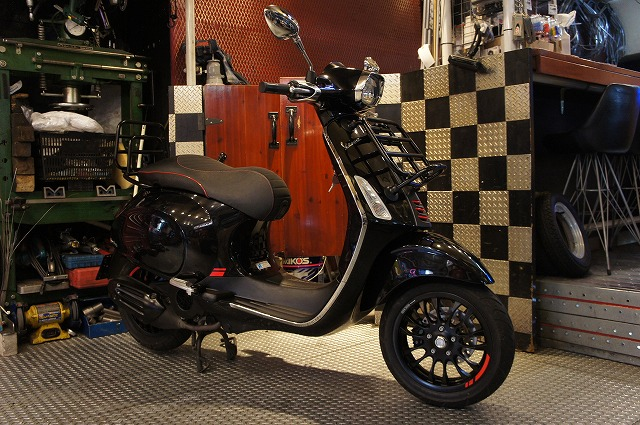 Vespa Sprint 150 ABS Carbon